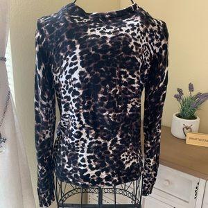 H&M Sweaters - H&M Basic Cheetah Print Cardigan